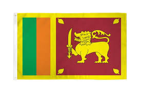 Sri Lanka Flag 2x3ft Poly