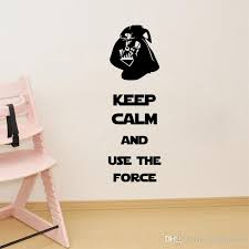 Star Wars Room Decor by Star Wars Wall Decals Darth Vader Removable 3d Wall Sticker Home