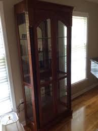 ethan allen medallion curio cabinets 1 or 2 furniture newark
