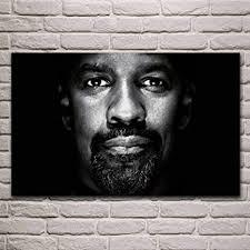 wshiyi denzel washington coole schwarz weiß porträt