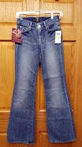 7 for all mankind size 24 denim jeans designer new enkore kids