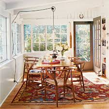 Rug In Dining Room Of Nifty Oriental Flair Comfy Cottage Rooms New