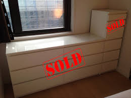 Malm 6 Drawer Dresser Dimensions by Leaving New York Sale