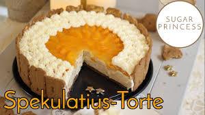 gewinnspiel weihnachtstorte ohne backen spekulatius mandarinen torte rezept sugarprincess