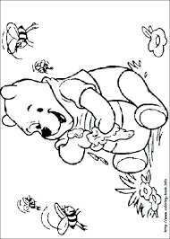 Winnie The Pooh Coloring Pages Online Games Free Printable Halloween