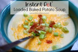 Crock Pot Potato Soup Mama by Instant Pot Loaded Baked Potato Soup Daily Rebecca