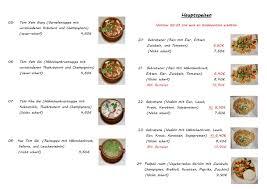 thai küche โพสต venningen เมน ราคา ร ว วร านอาหาร