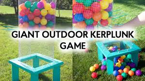 DIY Giant Outdoor Kerplunk Game - YouTube Covered Kiddie Car Parking Garage Outdoor Toy Organization How To Hide Kids Outdoor Toys A Diy Storage Solution Our House Pvc Backyard Water Park Classy Clutter Want Backyard Toy That Your Will Just Love This Summer 25 Unique For Boys Ideas On Pinterest Sand And Tables Kids Rhythms Of Play Childrens Fairy Garden Eco Toys Blog Table Idea Sensory Ideas Decorating Using Sandboxes For Natural Playspaces Chairs Buses Climbing Frames The Magnificent Design Stunning Wall Decoration Tags