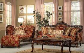 furniture classic formal living room couch with chaise lounge and
