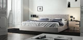 modloft madison leather platform bed beyond stores