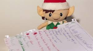 A Christmas Elf Letter from Santa