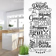 details zu wandtattoo küchenregeln esszimmer sprüche wand sticker guten appetit ws22