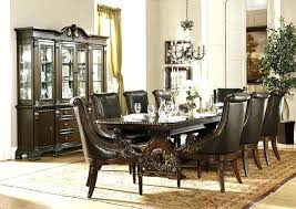Elegant Formal Dining Room Chairs Dinning Set In Cherry