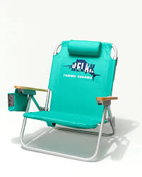 solid green deluxe backpack beach chair