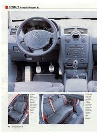 renault megane 2 interieur photo interieur megane 2 rs auto titre