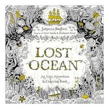 Lost Ocean Coloring Book By Penguin Group USA Inc 1695