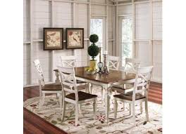 badcock pacifica 5 piece dining our home pinterest white