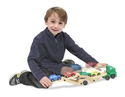 100 Melissa And Doug Trucks Car Carrier Truck And Cars Wooden Toy Set