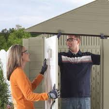 Roughneck 7x7 Shed Instructions by Shop Rubbermaid Roughneck Storage Shed Common 5 Ft X 6 Ft