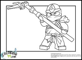 Lego Ninjago Coloring Pages Masters Of Spinjitzu Kai Dx