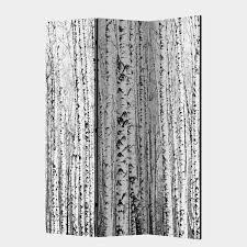 paravent birch forest teilig