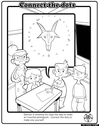 Satanic Coloring Book N Marvelous Books For Children