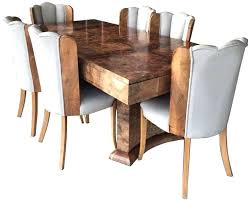 Art Deco Dining Set A Great Table Seating Furniture For Sale