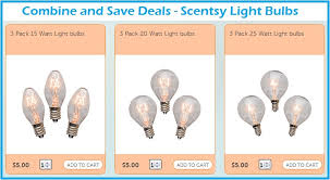 new scentsy light bulb 3 pack combine and save deals