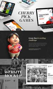 Cherrypick Games New Website On Behance