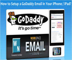 Setup GoDaddy Email in iPhone or iPad WebNots