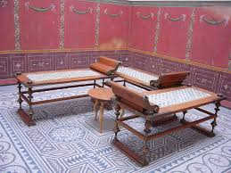 Triclinium - Wikipedia Large Ding Table Seats 10 12 14 16 People Huge Big Tables Heavy Duty Fniture Mattrses In Milwaukee Wi Biltrite Wow 23 Spacesaving Corner Breakfast Nook Sets 2019 40 Diy Farmhouse Plans Ideas For Your Room Free How To Refinish Chairs Overstockcom To A Kitchen Vintage Shabby Chic Style 8 Small Living That Will Maximize Space Fast Food Hamburgers From The Chain Mcdonalds Are Provided Due Walmartcom Lancaster Solid Wood 5piece Set By Eci At Dunk Bright Why World Is Obssed With Midcentury Modern Design Curbed Recliners Pauls Co
