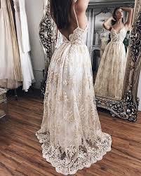 liz martinez beach wedding dresses 2017 with 3d floral v neck