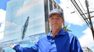 Denver International Airport Murals Painted Over by Hawaiian Airlines Artist Wyland Locked In Dispute Over Whale