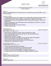 Medical Office Assistant Resume Sample Certified New Unique Retail