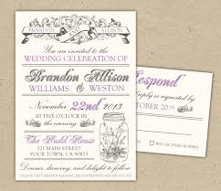 Etsy Wedding Invitation Template New Vintage Style Invitations On The Best Simple