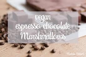 vegan espresso chocolate marshmallows madame dessert