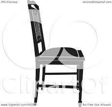 Clipart Illustration Of A Black And White Gothic Styled Chair Facing ... Gothic Revival Oak Glastonbury Chair Sale Number 2663b Lot Antique Carved Walnut Throne Arm Bucks County Estate Truly Stunning Medieval Italian Stylethrone Scissor X Large Victorian A Pair Of Adjustable Recling Oak Library Chairs Wick Tracery Cathedral My Parlor Room Purple Reproduction Shop Pair Jacobean Style Armchairs In Streatham Charcoal Gray Painted Rocking By Just The Woods Wicker Seat Side At