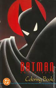 Batman Adventures Coloring Book 1993 Comic Books
