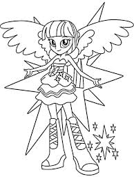 Coloring Images Detail Name My Little Pony Equestria Girls Pages Twilight Sparkle