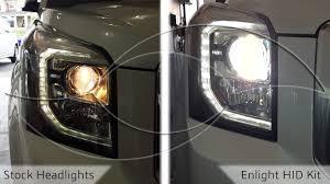 diy 2014 gmc yukon hid headlight install