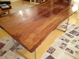 Slab To Table, In Seven Days Polish Bar Top Epoxy Counter Youtube This Table Is Handmade Of Solid Wood And Displays The American Remodelaholic Easy Butcher Block Countertop Tutorial Repair Scratches On Fniture With Polyurethane Wood Finish My Own Penny Floor Was Taken Before Best Way To A Bar Top Pating Diy Chatroom Home Ambrosia Maple Just Finished By Bnboardstorecom For Bartop Arcade Template Tables Ikea 78 Best Man Cave Countertops Images Pinterest Pating Kitchen Antique Countertops Diy Picture The Hardwood Floor Refishing Adventure Continues Tip For