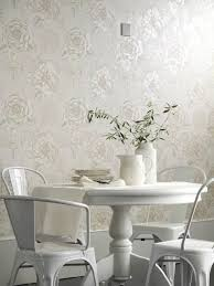 Dining Room Wallpaper Ideas Shabby Chic Style