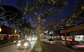Christmas Tree Lane Pasadena by 200 Trips In Southern California La Times