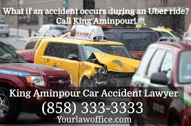Uber Accidents | King Aminpour Car Accident Lawyer