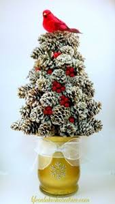 Pine Cone Christmas Tree Ornaments Crafts by Large Pine Cone Holiday Tree Decor Christmas Decorations