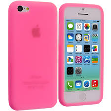 For Apple iPhone 5C Color Silicone Rubber Soft Gel Skin Case Cover