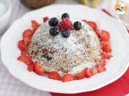cuisiner sans lactose bowl cake banane coco sans lactose et sans gluten recette ptitchef