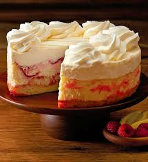 The Cheesecake Factory Lemon Raspberry Cream Cheesecake 7""
