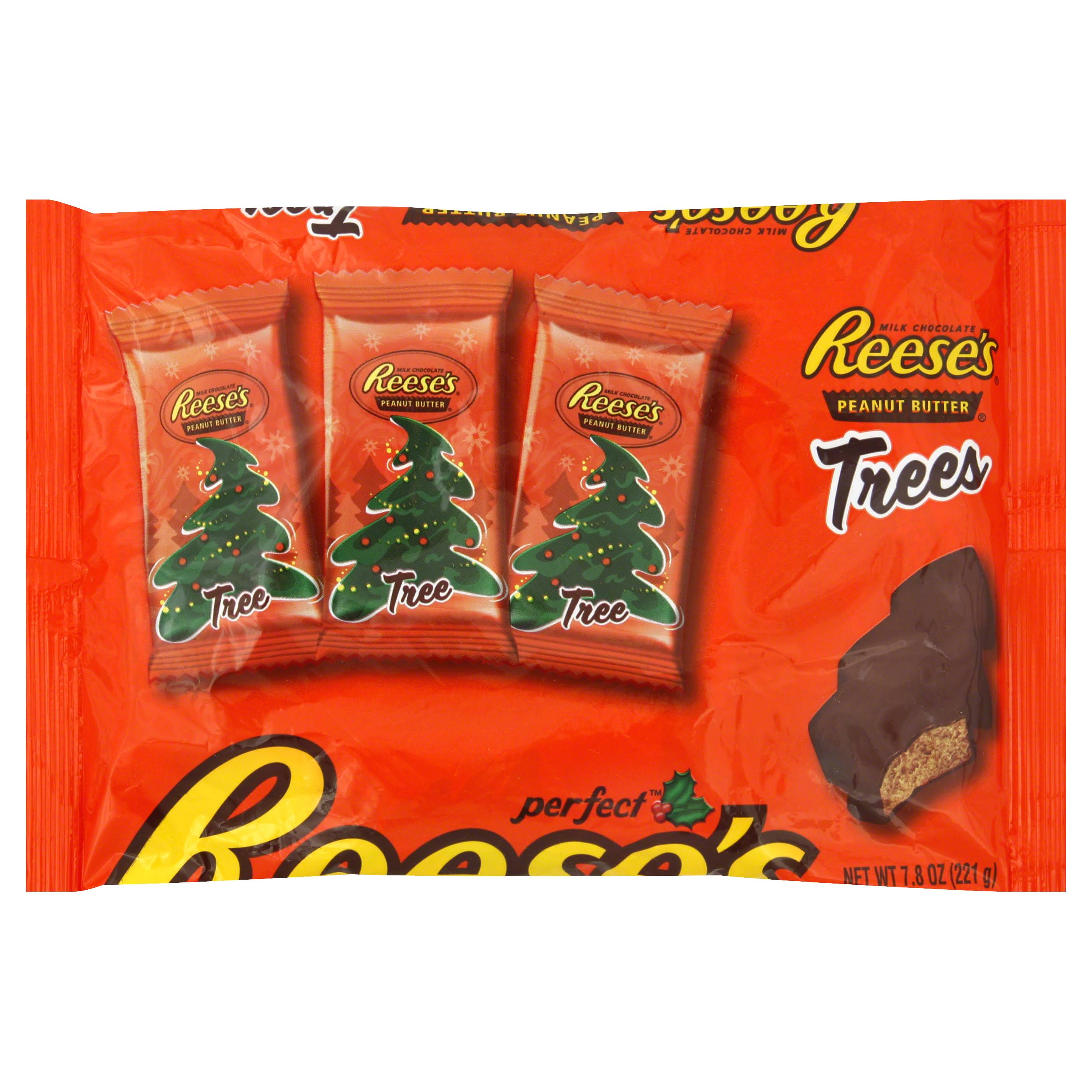 Reeses Trees Milk Chocolate - Peanut Butter, 7.8oz
