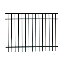 Decorative Garden Fence Panels by Shop Ironcraft Actual 4 Ft X 6 Ft Berkshire Black Powder Coated
